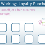 Soul Workings Loyalty Punch Cards