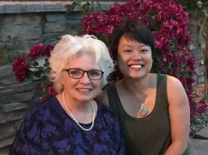 Dr. Howe and Amy Mak in Denver June 2018 for the COVR awards