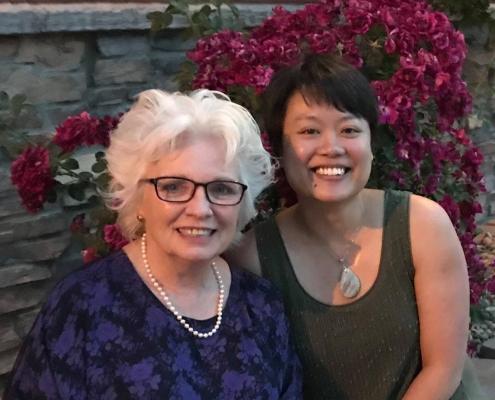 Dr. Howe and Amy Mak in Denver June 2018 for the COVR awards